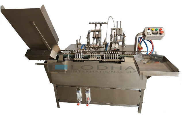 Cosmetic Ampoule Filling Machine