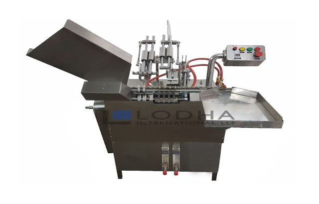 Glass Ampoule Filling & Sealing Machine